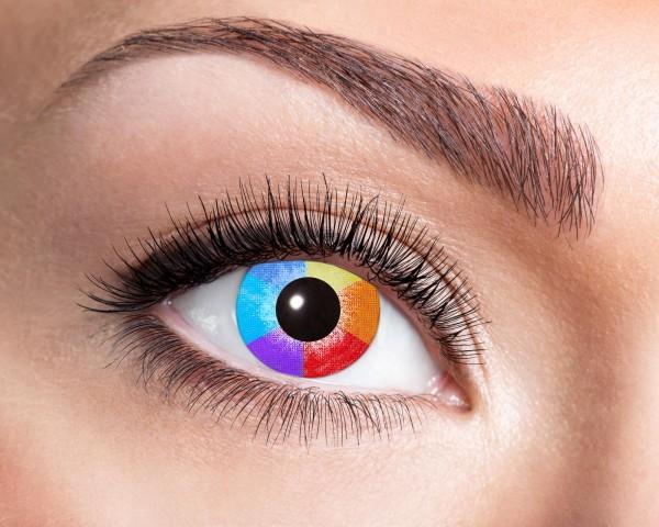 Kontaktlinsen rainbow 12 Monate