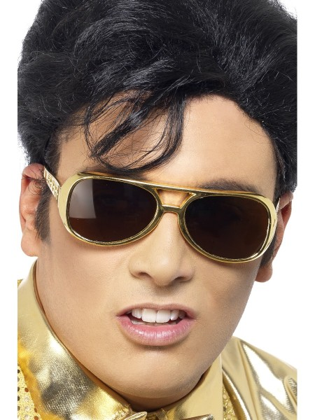 Elvis Brille gold