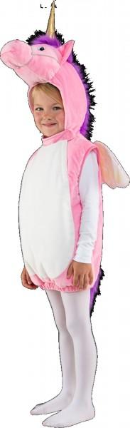 Rosa Einhorn Kostüm Größe 104