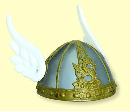 Gallier Helm mit Flügel