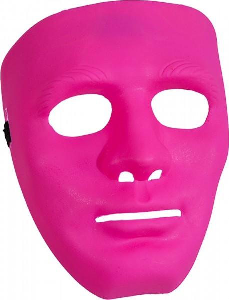 Maske pink ganzes Gesicht