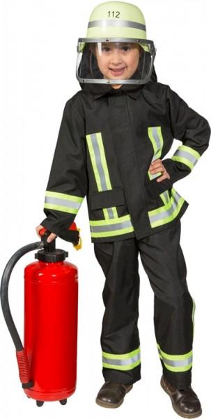 Feuerwehr Mann Anzug Hose und Oberteil