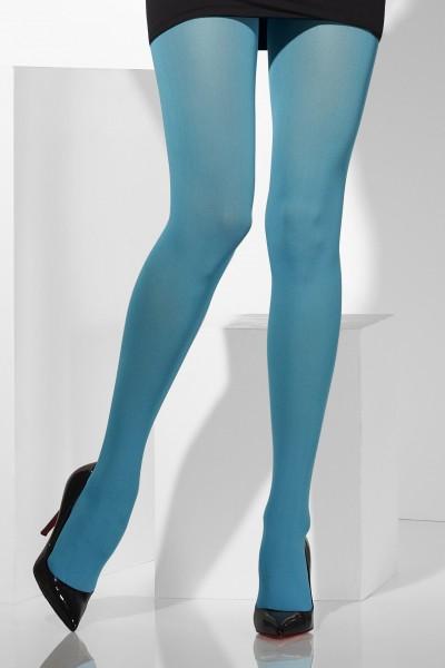 Strumpfhose Opaque blau
