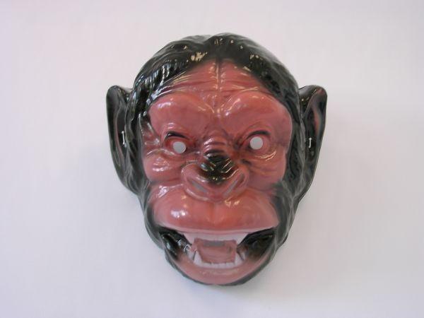 AFFE Maske Plastik für Erwachsene