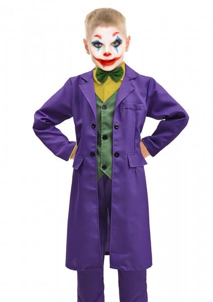 Joker Kostüm 8-10 Jahre Jacke, Hose und Weste