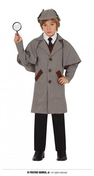 Detektiv Mantel mit Mütze 10 - 12 J