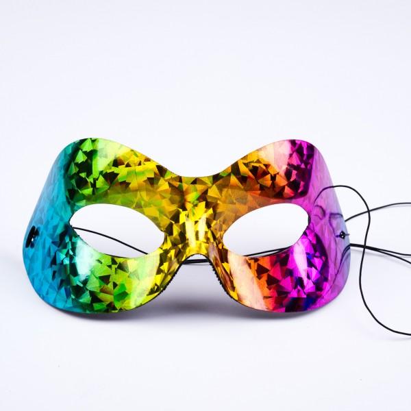 Augenmaske Regenbogenfarben