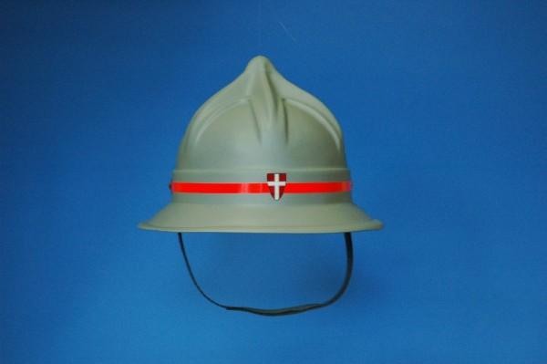 Feuerwehr Helm matt-grau