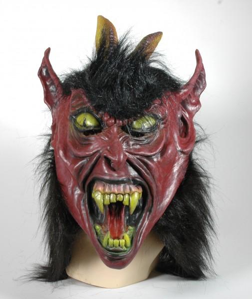 Krampus Maske für Erwachsen