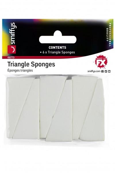 Dreieckschwämmchen 6er Packung